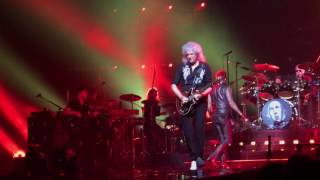 Queen + Adam Lambert- Hammer To Fall with We Will Rock You snippet