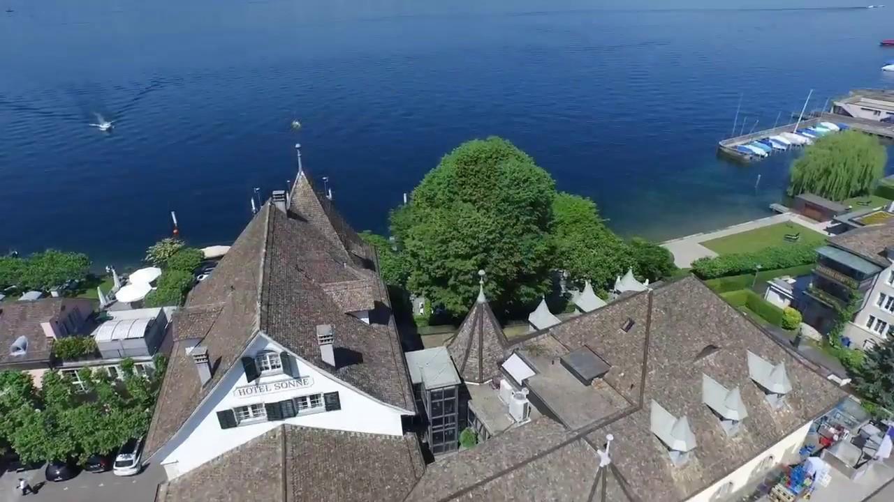 Romantik Seehotel Sonne Kusnacht Am Zurichsee Youtube