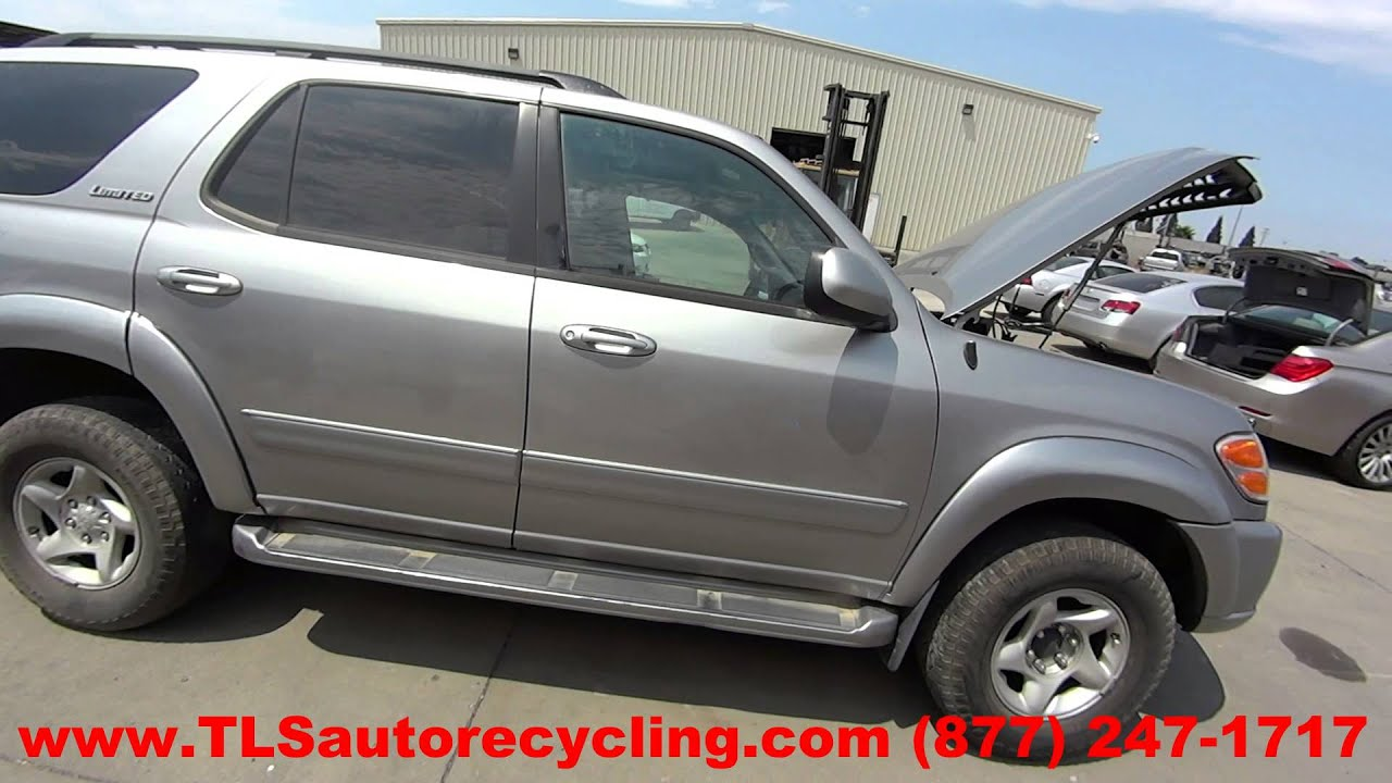 2004 Toyota Sequoia Parts For Sale 1 Year Warranty Youtube Loaded Premium Loading