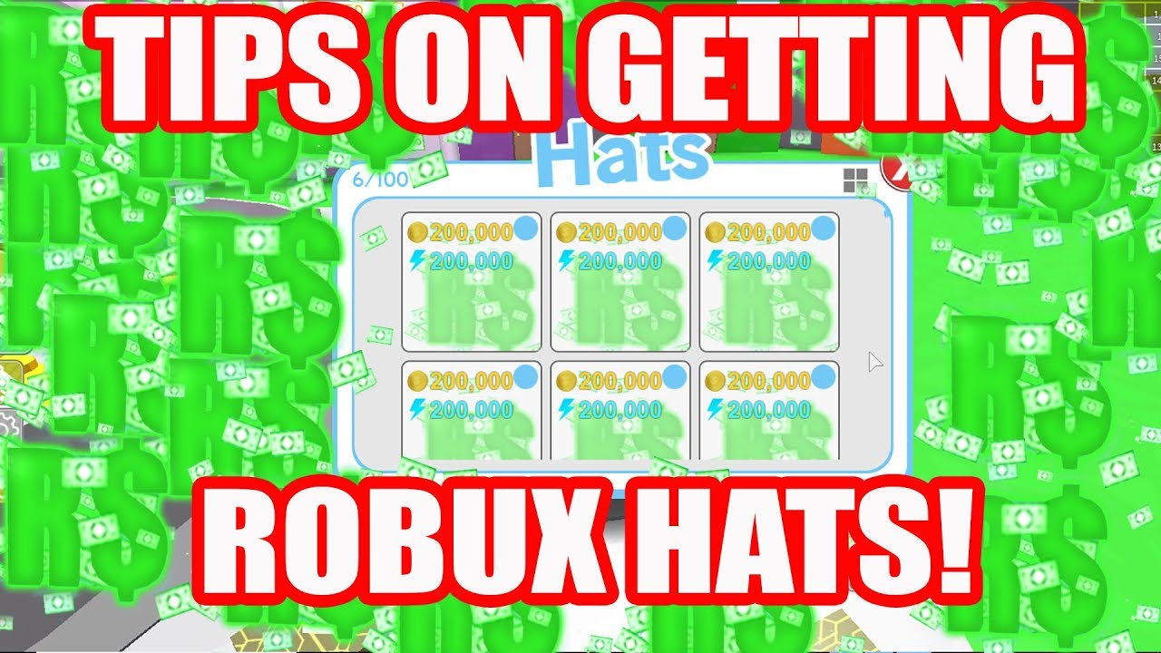 Robux Hat Tips - How to get robux hats! Pet Simulator Hat update