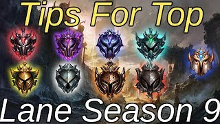 How To Play Top Lane In Season 9!  Easy Guide For Top Lane League of Legends