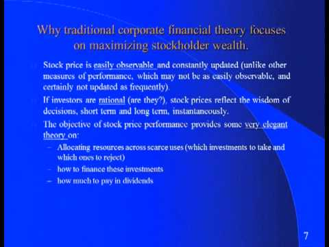 Corporate Finance by Aswath Damodaran session2