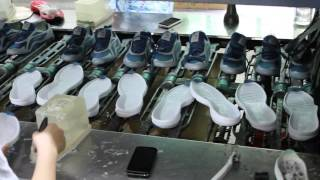 Making of sport shoes