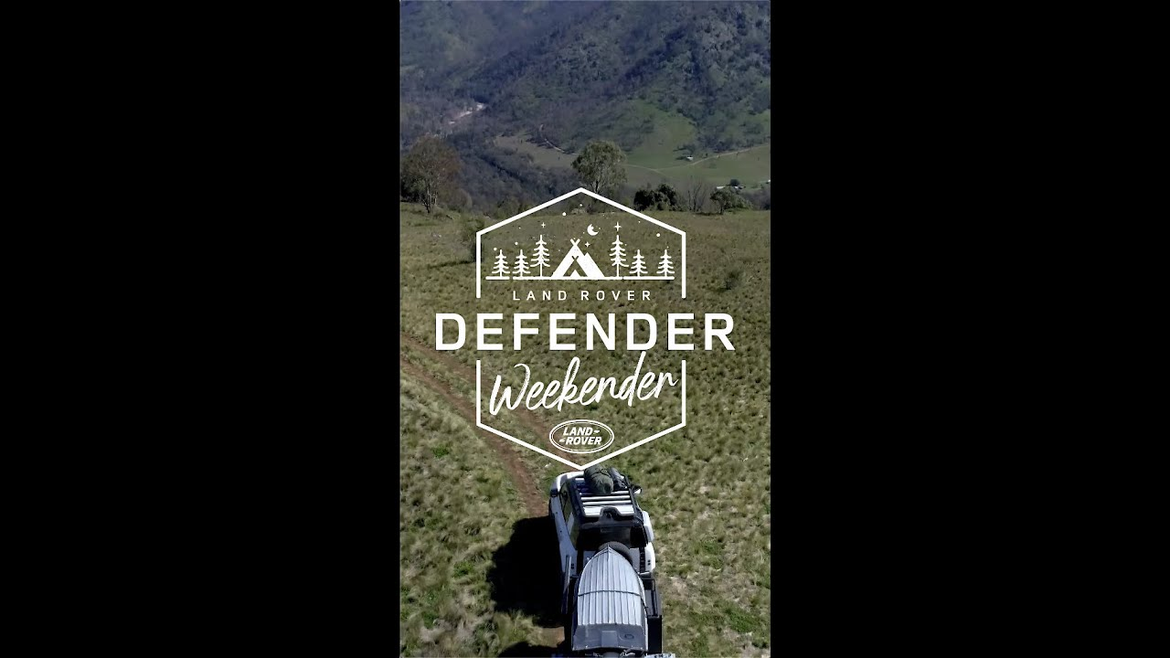 DEFENDER WEEKENDER - Chef James Viles ventures into the bush with the New Defender