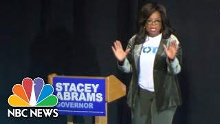 Oprah Stumps For Abrams In Georgia, Says She'll 'Serve The Underserved' | NBC News