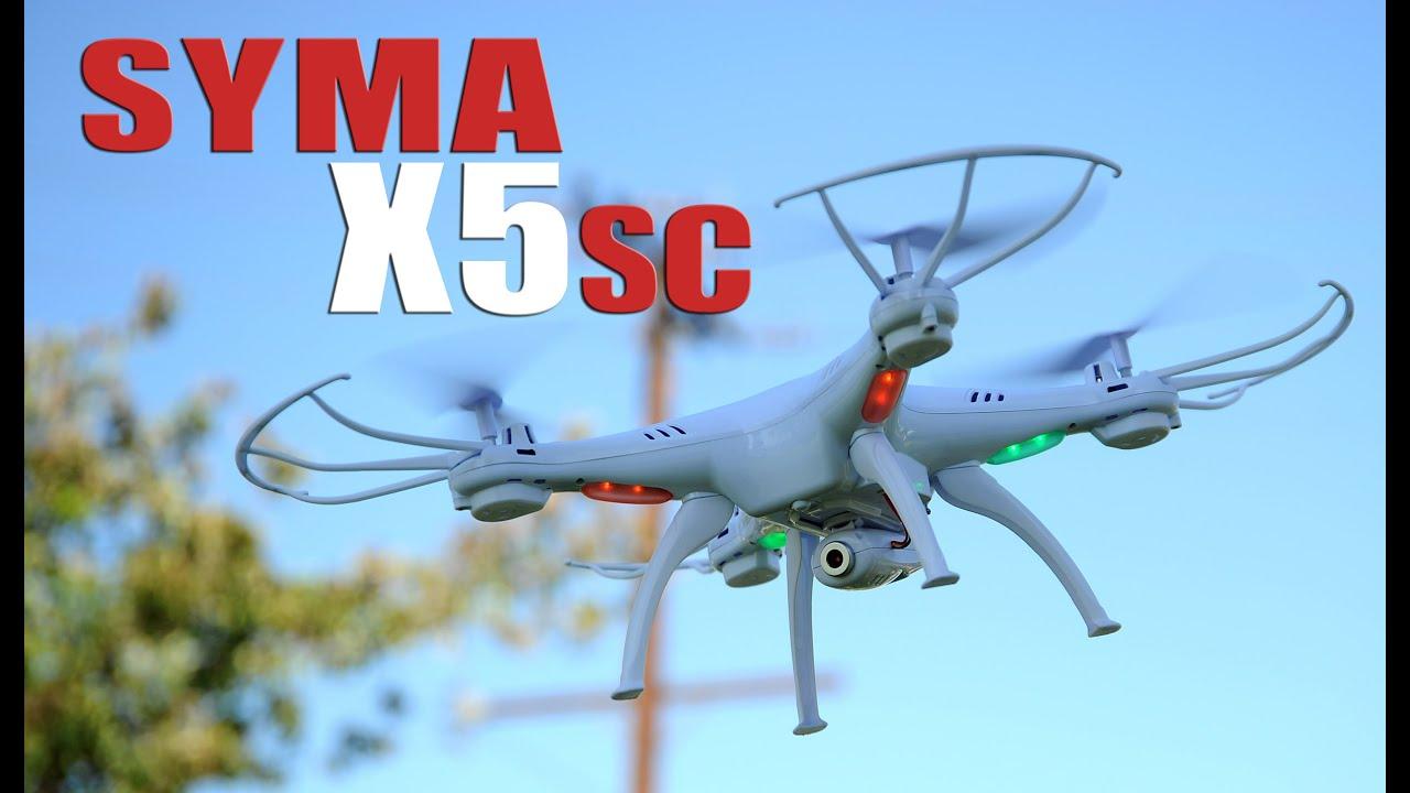 syma x5sc beste einsteigerdrohne quadrocopter kopter