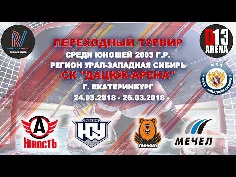 Юж. Урал - Молот 2-0.   25 марта 2018г