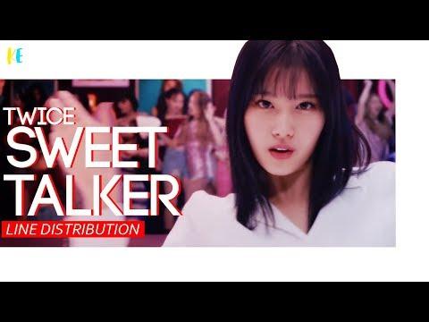 TWICE (트와이스) - Sweet Talker | Line Distribution