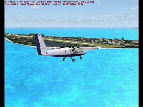 Tuvalu Flight Simulator scenery
