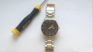 видео Ремонт часов Cacharel
