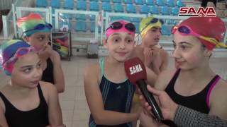 СИРИЯ БЕЗ ВОЙНЫ - Национальный центр плавания, 03.06.2016