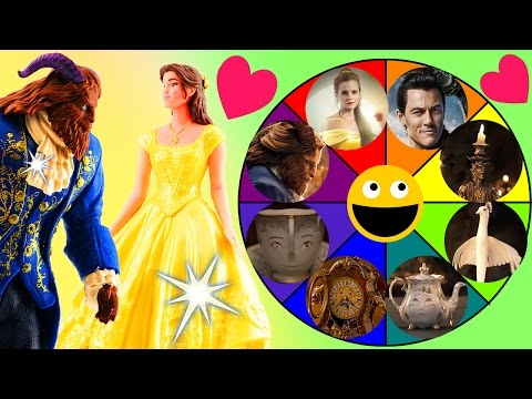 Thumbnail: BEAUTY AND THE BEAST Spin the Wheel Toy Game! Belle, Beast & Gaston Dolls from the New Disney Movie!