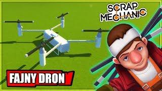 JANUSZE SCRAPA TESTUJĄ DRONY W SCRAP MECHANIC