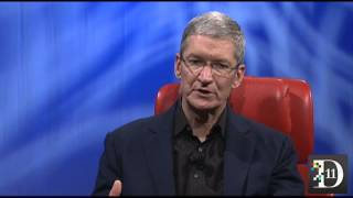 Tim Cook Talks Taxes - D11 Conference
