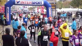 Marathon du Beaujolais 2017 - Ligne d'arrivée