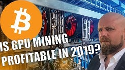 IS GPU MINING PROFITABLE ANYMORE? - Compared to Mining Bitcoin