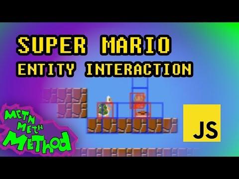 Code Super Mario in JS (Ep 12) - Entity Interaction