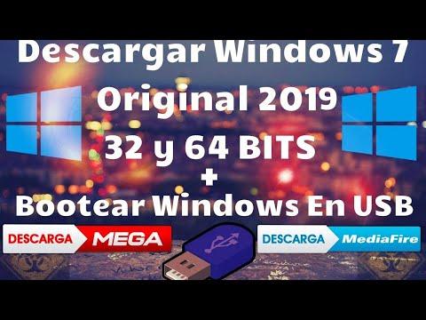 Descargar Windows 7 [32 Y 64 Bits] Y Bootear En Una USB 100% Fácil Y Rápido |2019