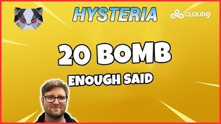 Hysteria | Fortnite Battle Royale  - 20 Bomb Solo Squads - Season 5 SMG Meta