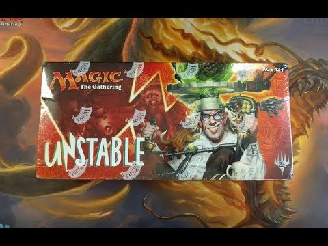 MTG Unstable Booster Box -Foil Full Art Land Pull