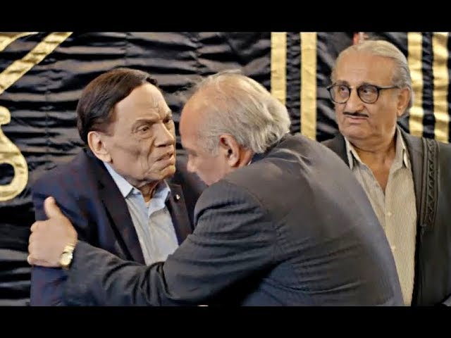 تصرف-غريب-وكوميدي-من-عادل-إمام-في-العزاء