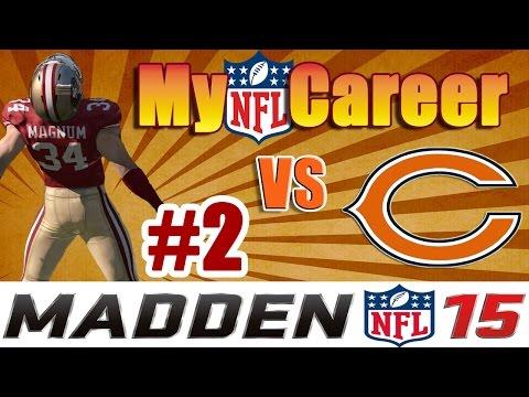 Madden NFL 15 Connected Franchise || Game 2 || 49ers vs Bears