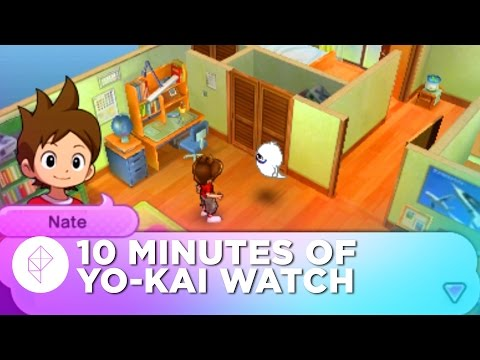 10 Minutes of YO-KAI WATCH Gameplay from E3 2015 (60FPS)