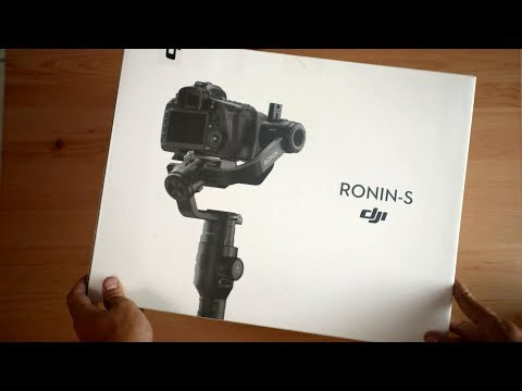 DJI Ronin S | Unboxing | First Look