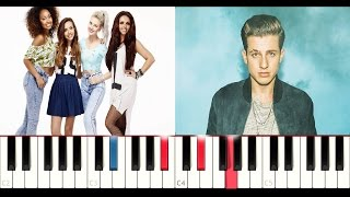 Little Mix ft. Charlie Puth - Oops (Instrumental Piano Tutorial )