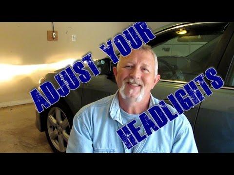 Adjust Your Headlights 2007 2017 Toyota Camry