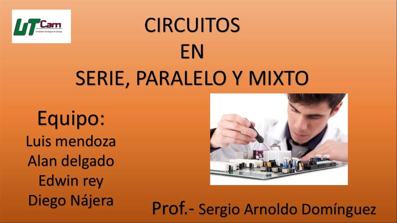 Circuito Seri E Paralelo : Como hacer circuitos en serie paralelo y mixto en protoboard