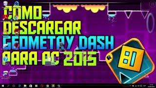 COMO DESCARGAR GEOMETRY DASH 2 0 PARA PC   WINDOWS 7-8-XP-10- 8.1