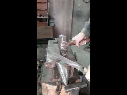 """""""Нож""""рубит металл. Обязательно прочитайте описание к ролику."""