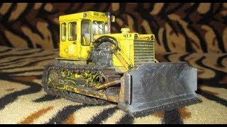 Доробка трактора Т 130 1:43 (трактори історія люди машини №59)