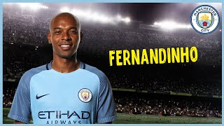 Fernandinho • Amazing Tackles & Passes • Manchester City
