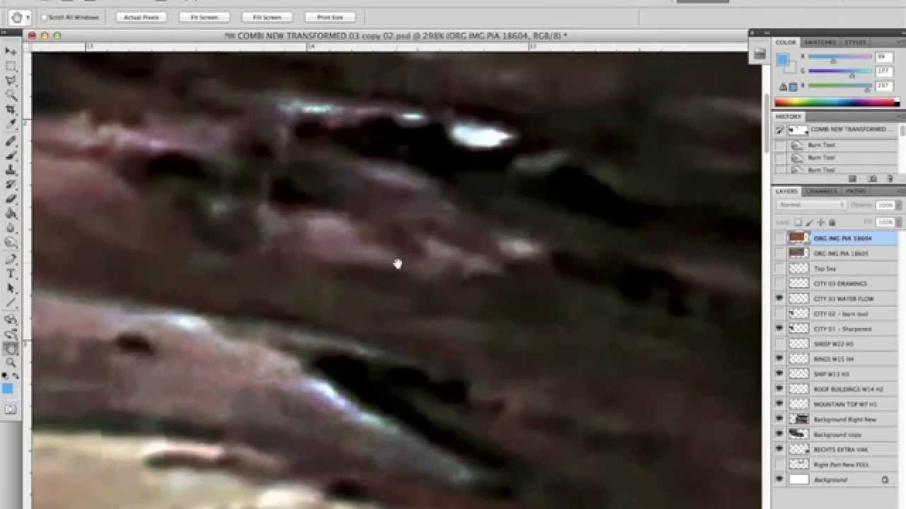 Game Over Nasa Jpl Shows Unedited Real Mars Photos For
