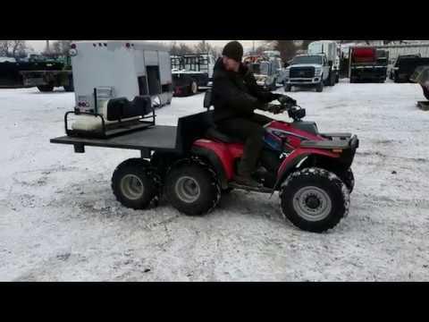 1994 Polaris Big Boss 400 6 Wheel ATV - BigIron Auctions - Mar. 18, 2018