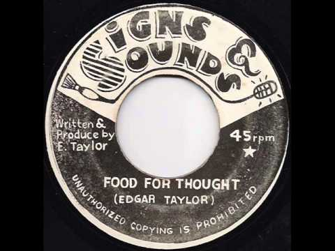 Edgar Taylor - Food For Thought / Version