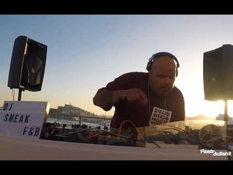 DJ SNEAK djset at Skybar Ocean Drive Ibiza