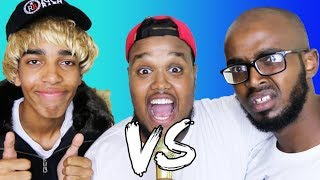 EPIC 1V1 RAP BATTLE!! - DARKEST MAN V YOUNG LAMPOST