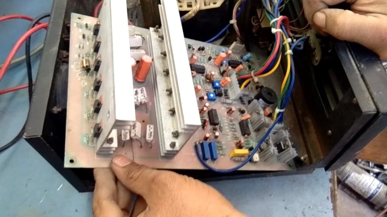 Inverter Repair In Hindi How To Card Fault Part 1