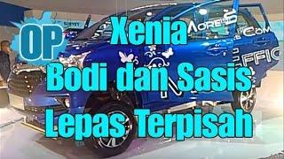 Daihatsu Great New Xenia, Bodi, sasis dan mesin bisa lepas terpisah..!!!!