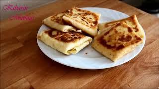 Kahvaltılık tavada pratik krep böreği tarifi - Peynirli krep nasıl yapılır - Kahvaltılık tarifler