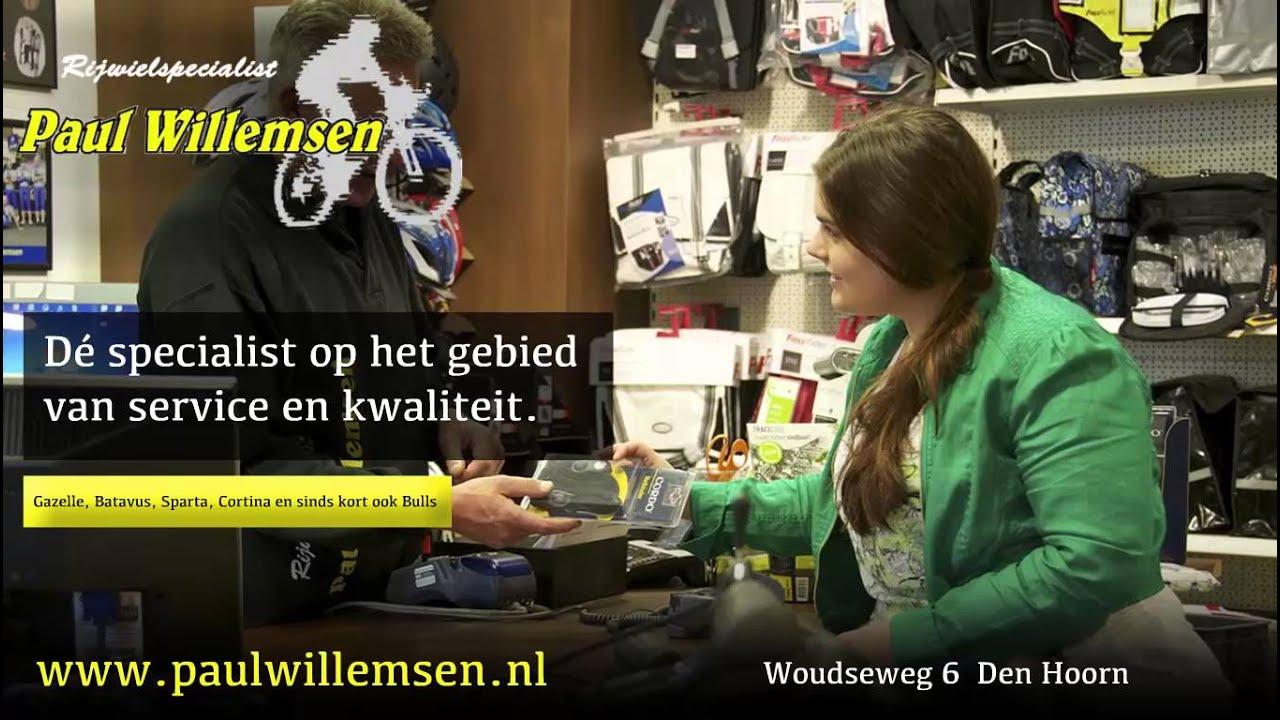 Paul Willemsen Rijwielspecialist Den Hoorn Youtube