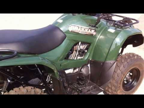 2013 Yamaha Grizzly 300 Blue