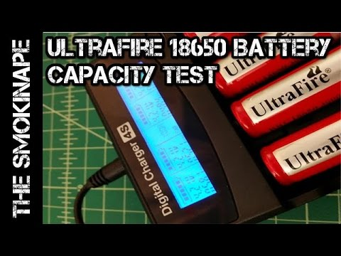 ultrafire 18650 battery capacity test thesmokinape youtube. Black Bedroom Furniture Sets. Home Design Ideas
