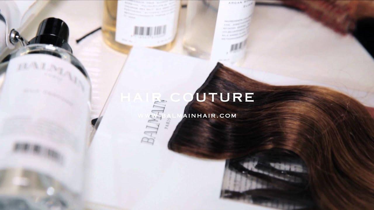 Balmain Paris Hair Couture Luxury Collection Youtube