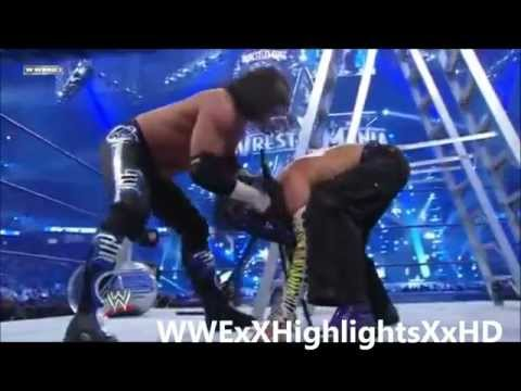 Matt Hardy Vs Jeff Hardy Highlights HD - Wrestlemania 25
