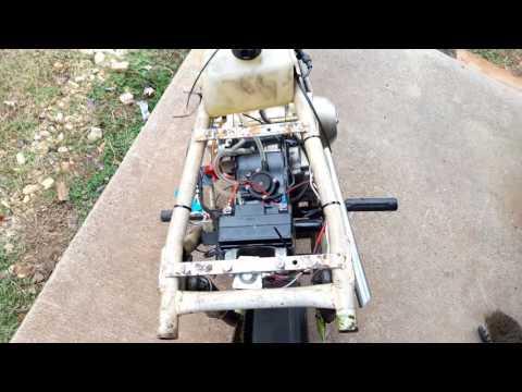 Rat Rod Sears Roper Mini Bike 70cc Project