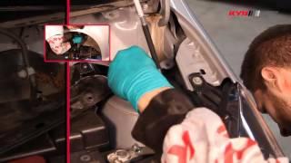 TOYOTA Aygo; Citroen C1; Peugeot 107 - FRONT - Передние амортизаторы KYB установка